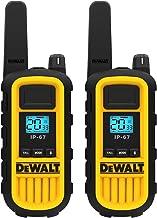 DEWALT DXFRS800 2 Watt Heavy Duty Walkie Talkies – Waterproof, Shock Resistant,..