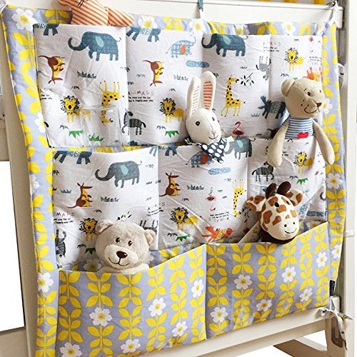 Foru multistrato Pouch Storage organizer per culle presepe pannolini Toys Hanging bag Storage Bag