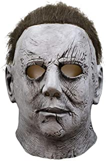 Cosplay Mask Adult Latex Full Face Helmet Halloween Party Scary Costume Event Props Funny Mask