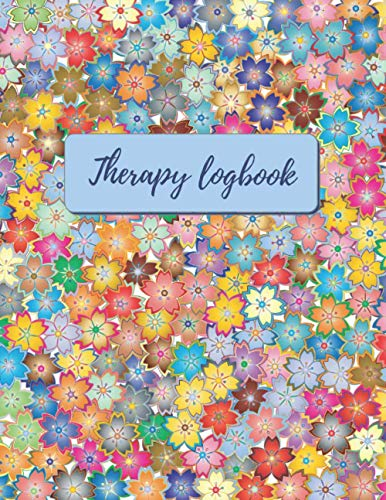 THERAPIST LOGBOOK: Record Clients Appointments, Treatment Plans, Log Interventions... | Notetaking Planner Notebook For Women | Gifts for Professionals | Counselors | Floral Cover.