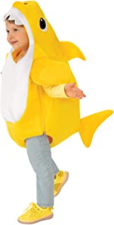 Rubie's unisex-child Baby Shark Costume with Sound Chip Costumes