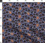 Halloween, Katzen, Candy Corn Stoffe - Individuell Bedruckt