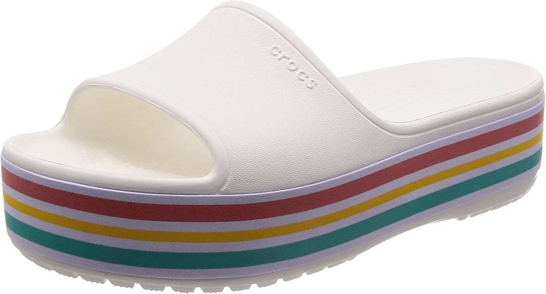 Crocs Unisex-Erwachsene Cb Cb Platform BLD Farbe Slide U Dusch-  Badeschuhe, Schwarz  hier hat das neuste