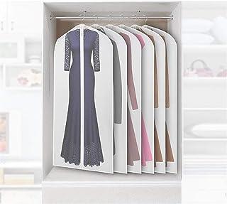 Housse de protection pour vêtements Vêtement housses for vêtements respirant Costume Robes Housse anti-poussière Veste sac...