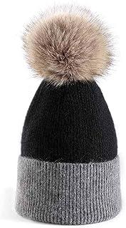 Inconly Beanie for Women Pom Pom Beanie Hat Warm Winter Knit Skull Ski Caps