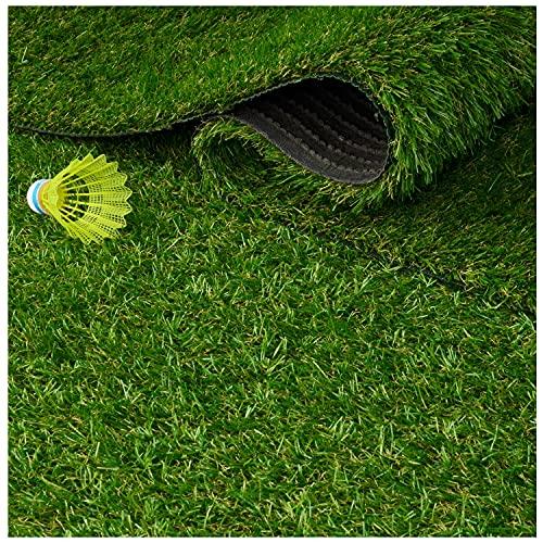 Kunstrasenteppich 35 mm- Qualität aus Belgien wasserdurchlässig strapazierfähig (40 x 200 cm)