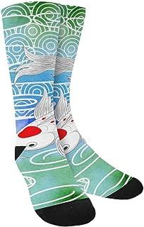 Funny Novelty Printed Crew Socks for Mens Womens