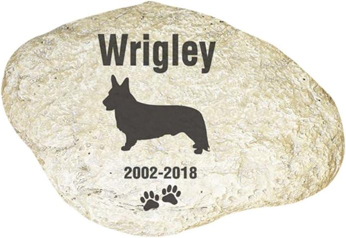 free shipping Ranking TOP11 GiftsForYouNow Engraved Dog Memorial Garden Stone