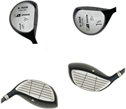New from AGXGOLF; The L.A. Spoon Men's 1.5 (13 Degree) Utility Wood w/HC wGraphite Shaft Right Hand Made in U.S.A