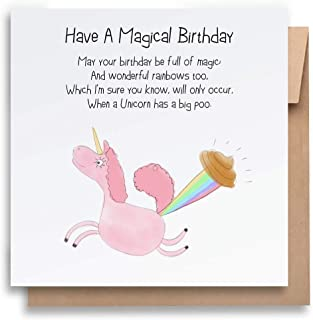 A Magical Birthday -Children's Birthday Card with Envelope, Kid's Birthday Card Funny Birthday Card Humorous Birthday Card...