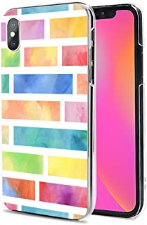 Huawei P40 Pro 5G ケース カバー スマホケース ハード TPU 素材 おしゃれ かわいい 耐衝撃 花柄 人気 全機種対応 虹色のレンガ シンプル ファッション 9791679
