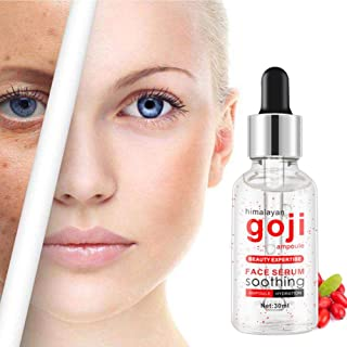 Facial Serum- 100% Pure-Highest Quality, Goji Berry Topical Facial Serum With Hyaluronic Acid Vitamin By lotus.flower (30ml)