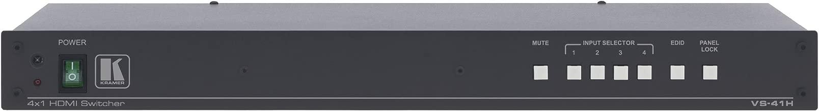 Kramer High Performance 4x1 HDMI Switcher VS-41H