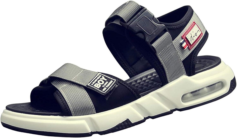 Fuxitoggo Männer Casual Sandalen Strand Schuhe Outdoor Outdoor Outdoor Sports Schuhe Hausschuhe (Farbe   Grau, Größe   39EU)  51ad3c