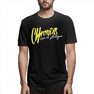 Men's Chronixx Casual Round Neck Tee T-Shirt