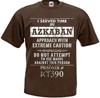 Harry Potter I Served Time in Azkaban Men's Brown Tee T-Shirt Shirt