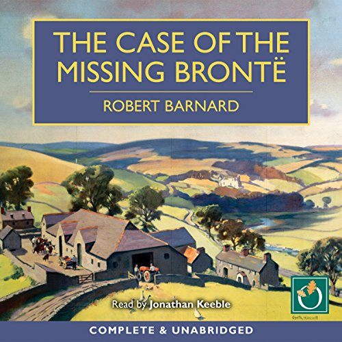 The Case of the Missing Brontë audiobook cover art