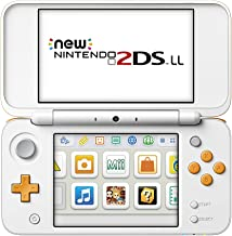 NEW New Nintendo 2DS LL Console System White x Orange Region JAPAN import