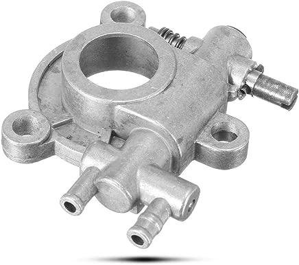 For SX72 SX82 Baumr-Ag Chainsaw 72cc 82cc Oil Pump Worm Gear Drive Quad Bike