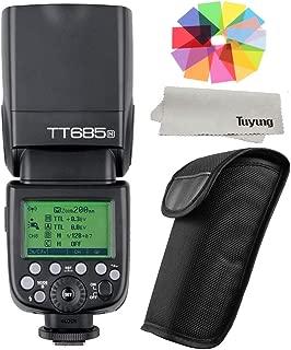 【正規品 技適マーク付き日本語説明書付】GODOX Thinklite TT685N TTL 2.4G 無線ラジオシステム マスターとスレーブ スピードライト 懐中電灯 ストロボ Nikon D7100 D7000 D5200 D5100 D5000 D3200 D3100適用