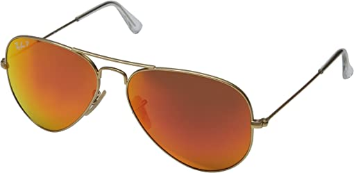 Matte Gold/Orange Mirror Polar