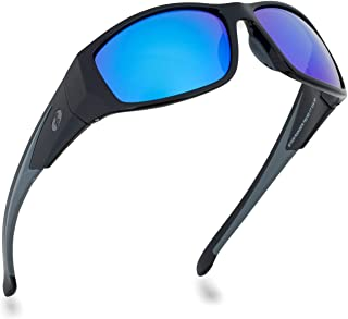 BNUS Sunglasses for Men & Women, Polarized glass lens,...