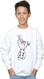 Disney Niños Frozen 2 Olaf and Salamander Camisa De Entrenamiento