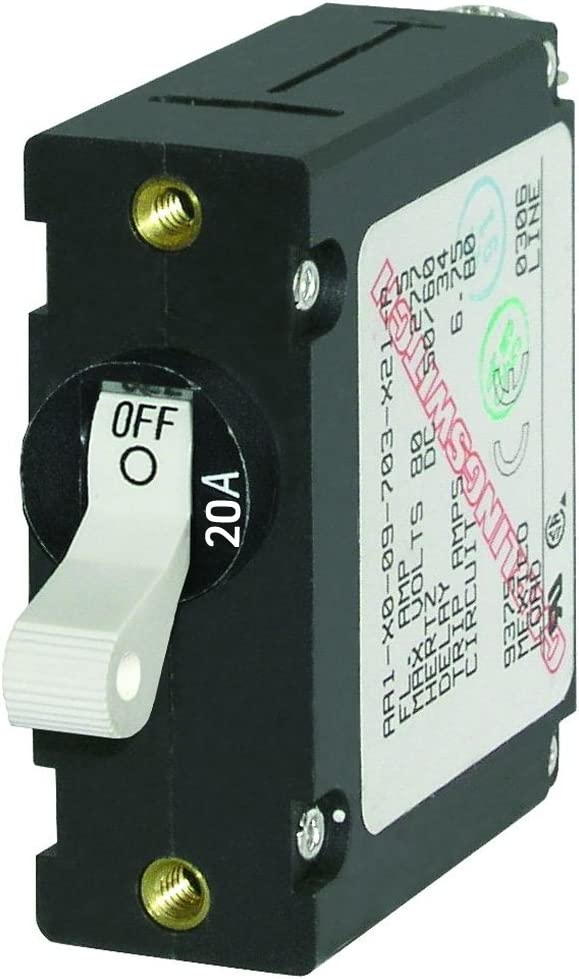 Blue Sale Special Sales of SALE items from new works Price Sea 7214 AC DC Single World Circuit Magnetic Pole Breaker