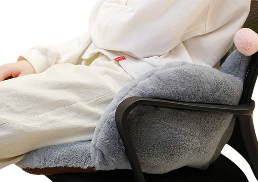 Stuhlauflage Dicke Stuhlkissen mit R/ückenteil Sessel Sitzst/ütze Warm Weich Sitzauflage Sitzpolster f/ür Gartenm/öbel Gartenstuhl Schmerzlinderung angenehme Polsterauflage f/ür B/üro Auto Hause Schule