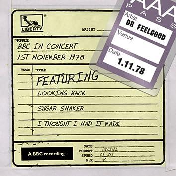 Dr Feelgood - BBC In Concert (1st November 1978)