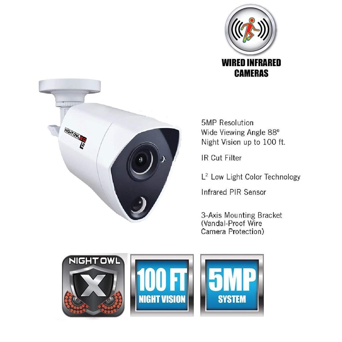 Night Owl Security Infrared Replacement