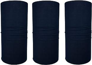 bandana//set di 3 nei disegni attuali sciarpa tubolare sciarpa sportiva Hilltop 3 x moto sciarpa multifunzionale
