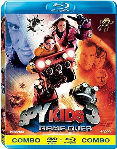 Mission 3D: Spy Kids 3 (Spy Kids 3D: Game Over, Importé d'Espagne, langues sur les détails)