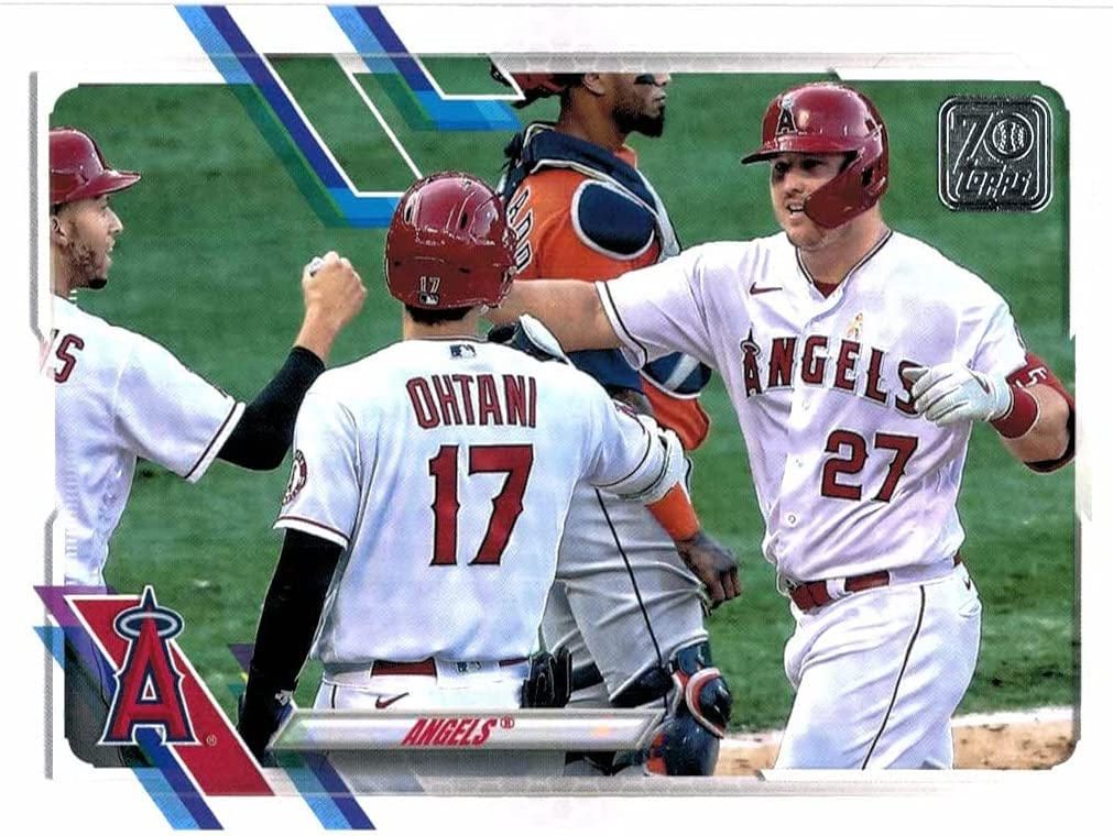 2021 Topps Series 1 2 Los Angeles Tr Ranking TOP17 Excellence Mike with Set Team Angels