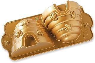 Nordic Ware Beehive Cake Pan, One, Gold