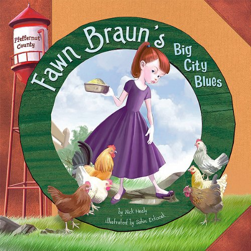 Fawn Braun's Big City Blues audiobook cover art