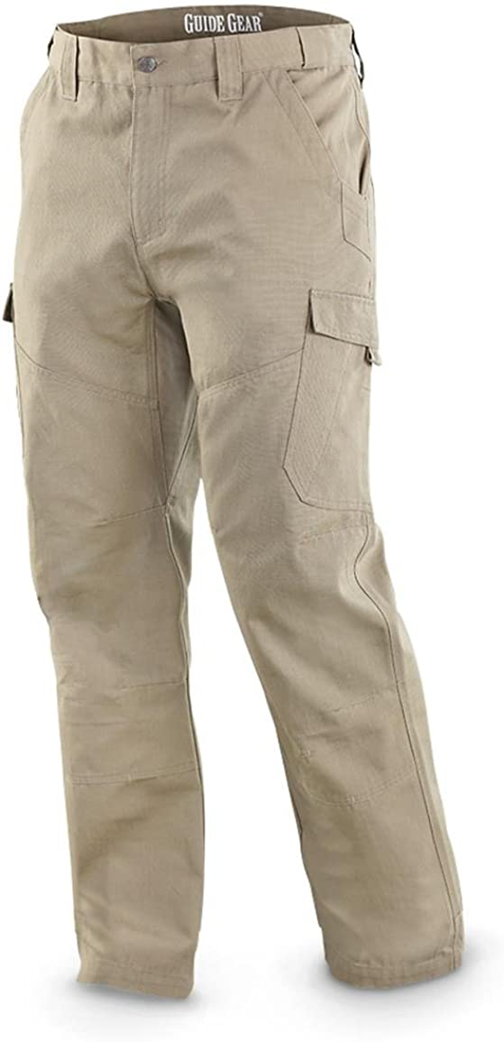 2021new shipping free shipping Guide Gear Factory outlet Men's Ripstop Work Cargo Pants