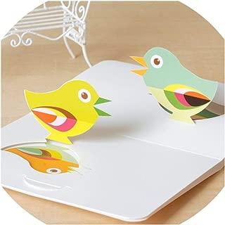Greeting Card,Cute Happy Birthday Cards Kids Greeting Cards 3D Paper Cut Birthday Cards Gift Message Card,Wish 1607 Ii 07