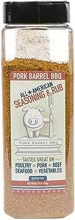 Pork Barrel BBQ All American Seasoning & Rub 19oz Chef Size Shaker (Pack of 3)