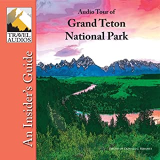 Grand Teton National Park, Audio Tour audiobook cover art