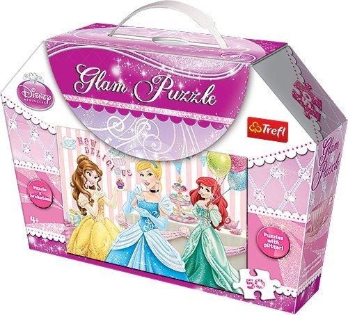 Trefl - 57898 - Puzzle Classique - Glam Minnie - 50 Pièces