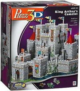 Puzzle 3D King Arthur`s Camelot Castle