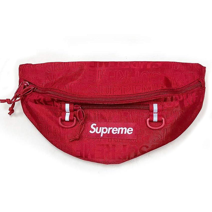 神秘的な保証金移行SUPREME WAIST BAG シュプリームウエストバッグ カバン CORDURA レッド 赤