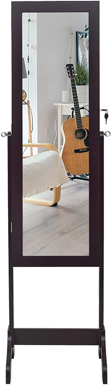 Non Full Mirror Wooden Outstanding Floor Type 8 2 Drawers Shelf Bl 4-Layer Popular