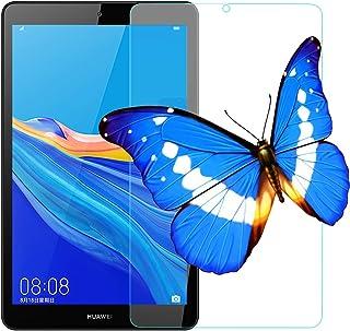 2枚 HUAWEI 8.0インチ MediaPad M5 Lite Touch タブレット用フィルムWi-Fiモデル/LTEモデル適用ガラスフィルム ファーウェイ M5 lite 8 強化フィルム 旭硝子製 耐指紋 視力保護 貼り付け簡単 30...