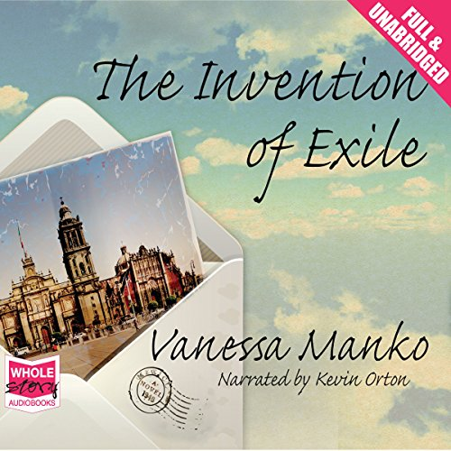The Invention of Exile audiobook cover art