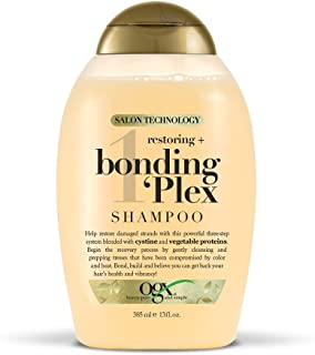 OGX Restoring + Bonding Plex Salon Technology Shampoo, 13 Ounce