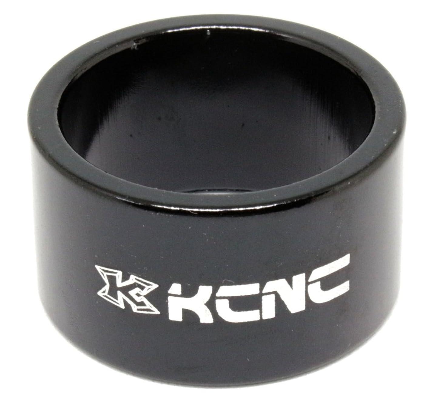 起訴する冗談でヘアKCNC 自転車 軽量 ヘッド スペーサー ブラック OS 20MM 506248