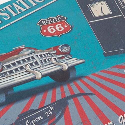 Craftenwood Mesa Centro Redonda Route 66 by