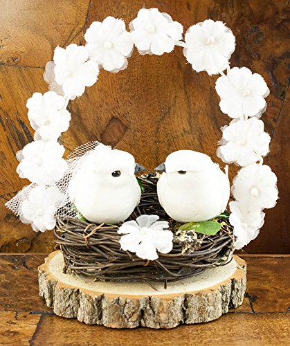 Wedding Love Nest Cake Topper